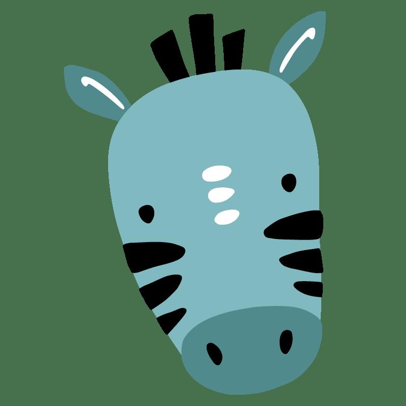 Cebras para colorear - 2