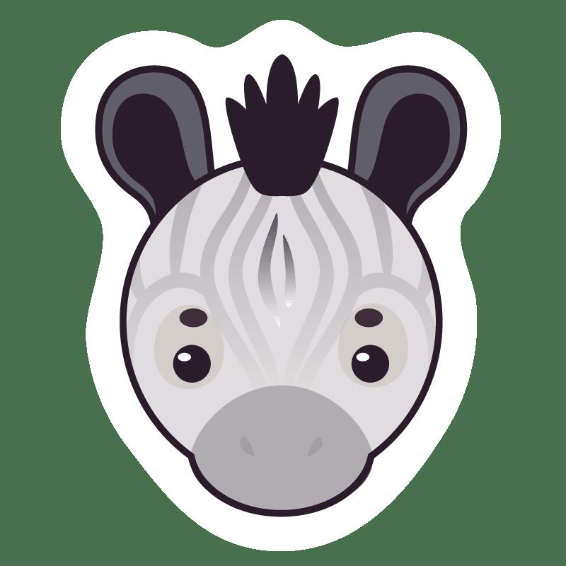 Cebras para colorear - 5