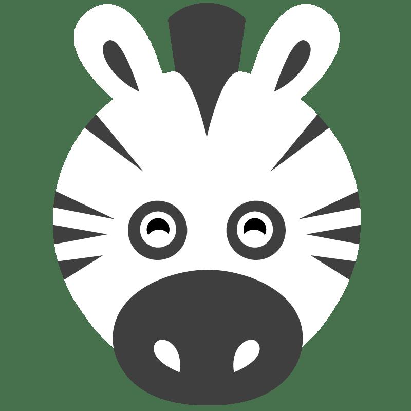 Cebras para colorear - 8
