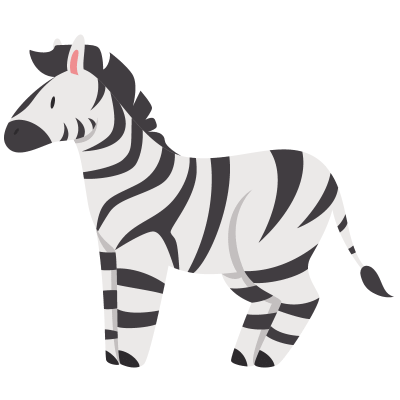 Cebras para colorear - 9