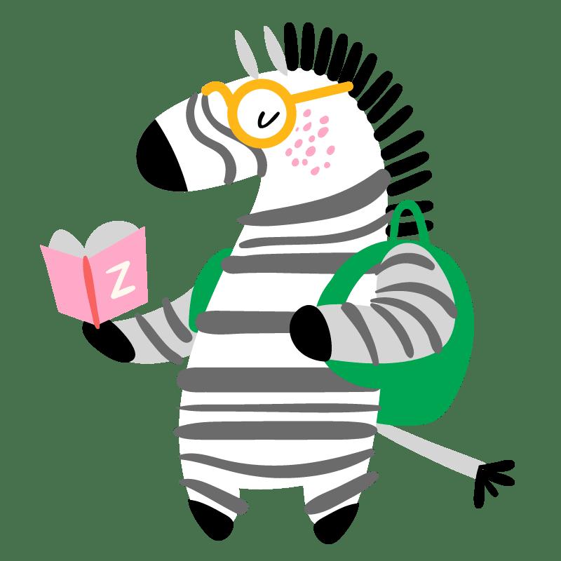 Cebras para colorear - 22