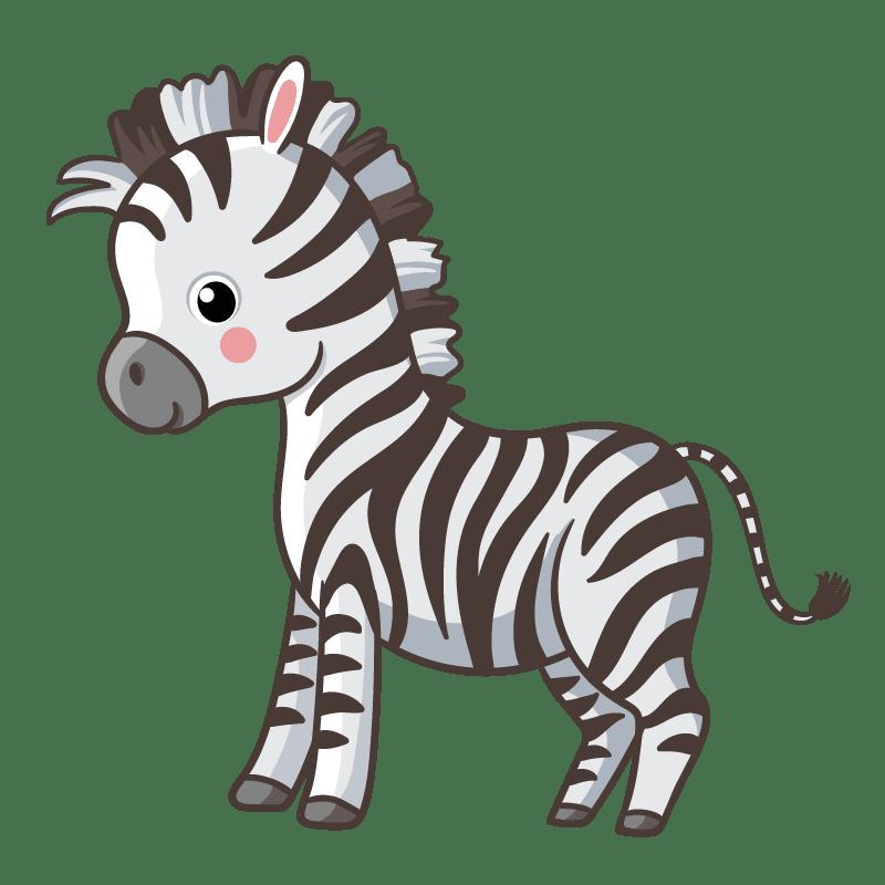 Cebras para colorear - 24