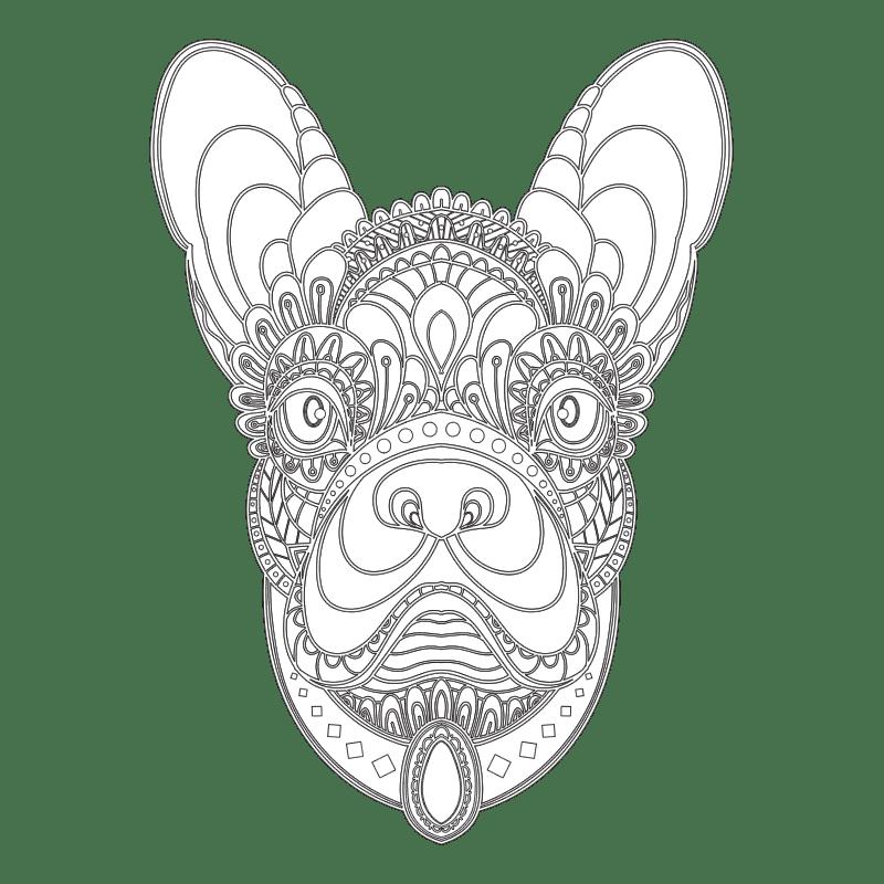 MANDALAS DE ANIMALES 6