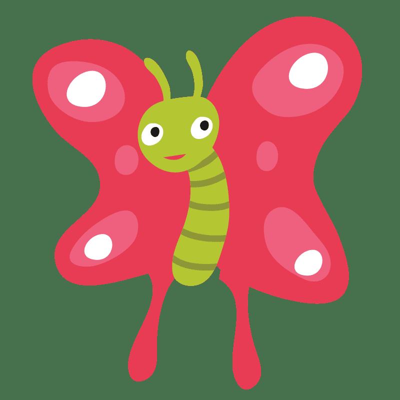 Mariposas para colorear - 1