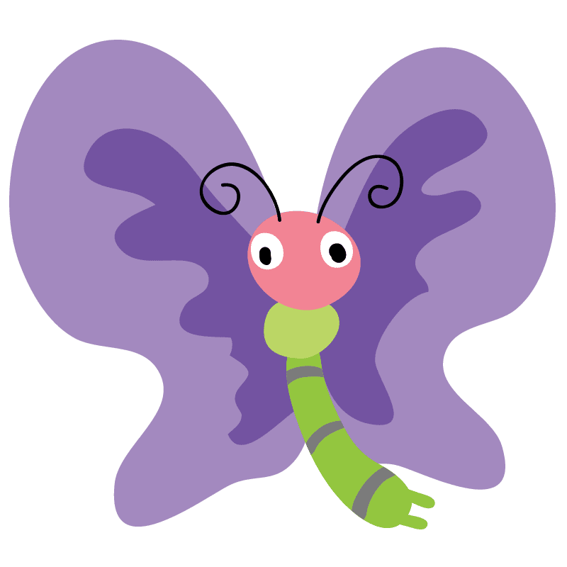 Mariposas para colorear - 4