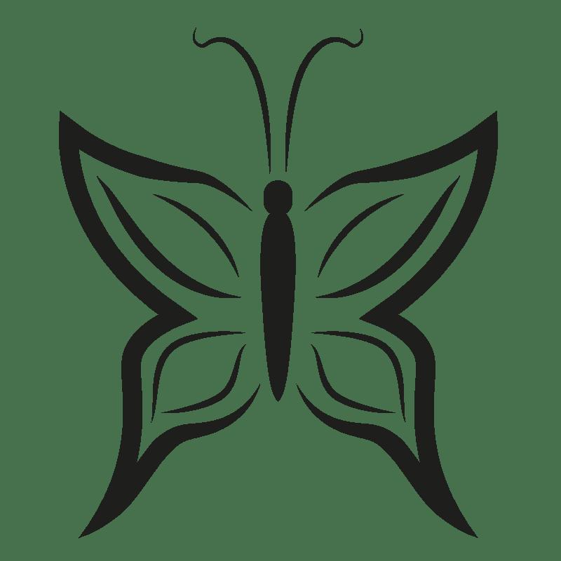 Mariposas para colorear - 15