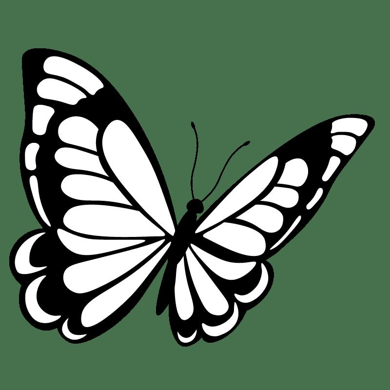 Mariposas para colorear - 17