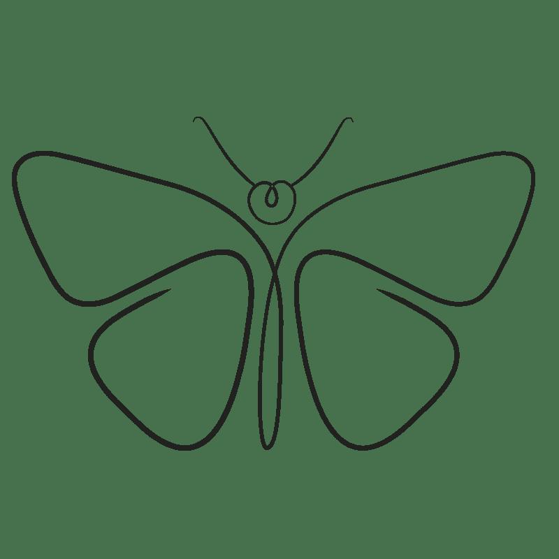 Mariposas para colorear - 20