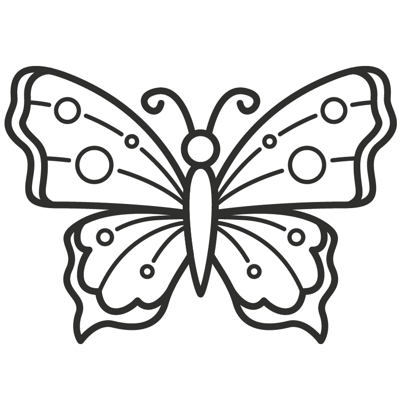 Mariposas para colorear - 22