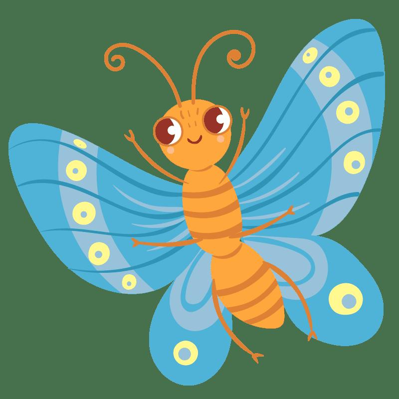 Mariposas para colorear - 23