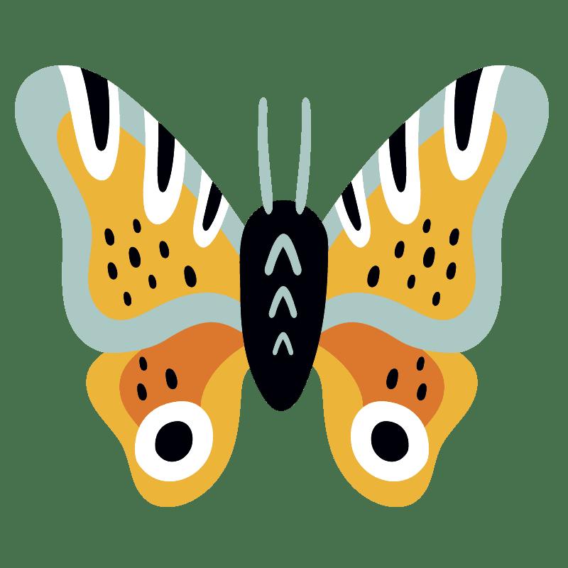 Mariposas para colorear - 27