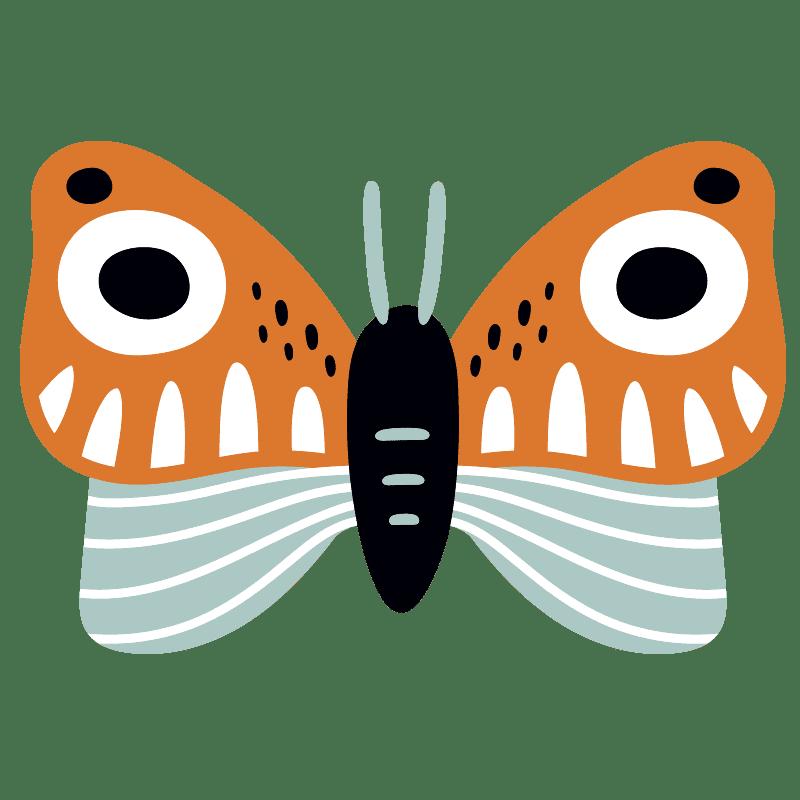 Mariposas para colorear - 28