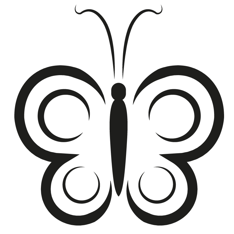Mariposas para colorear - 32