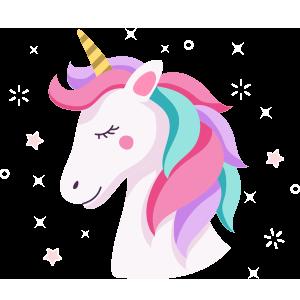 Unicornios para colorear - 17