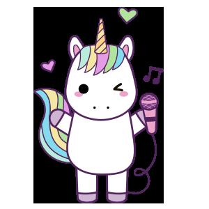 Unicornios para colorear - 2