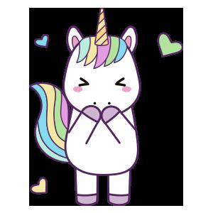 Unicornios para colorear - 4