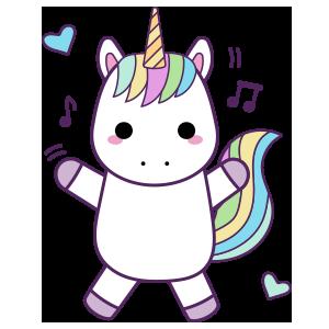 Unicornios para colorear - 6